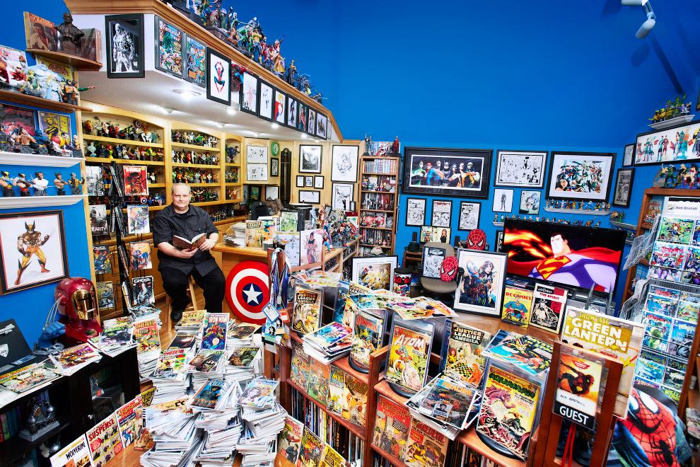 Самая большая в мире коллекция комиксов