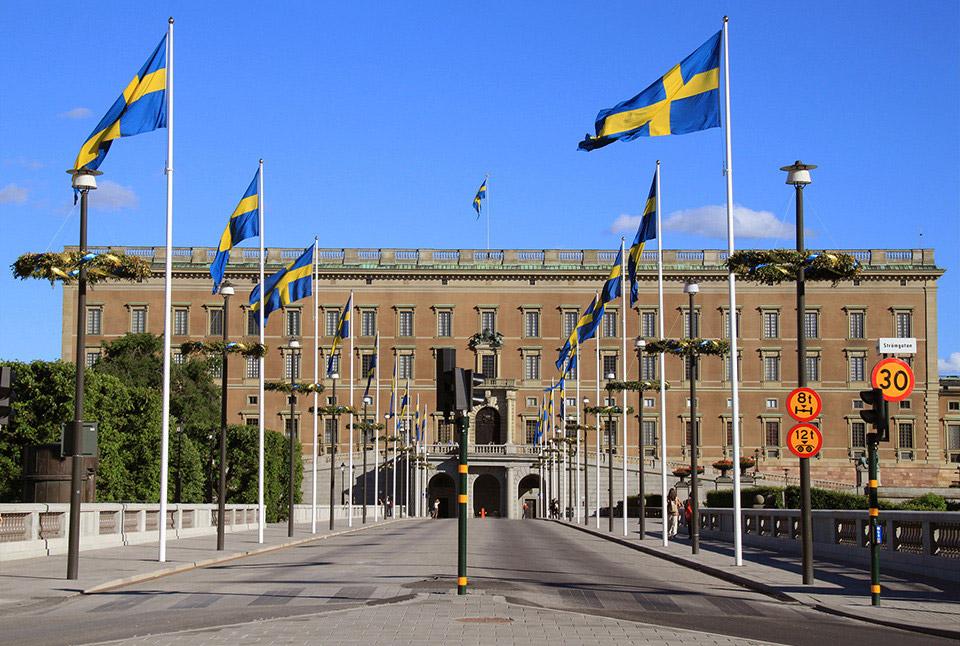 Стокгольмский королевский дворец, Швеция