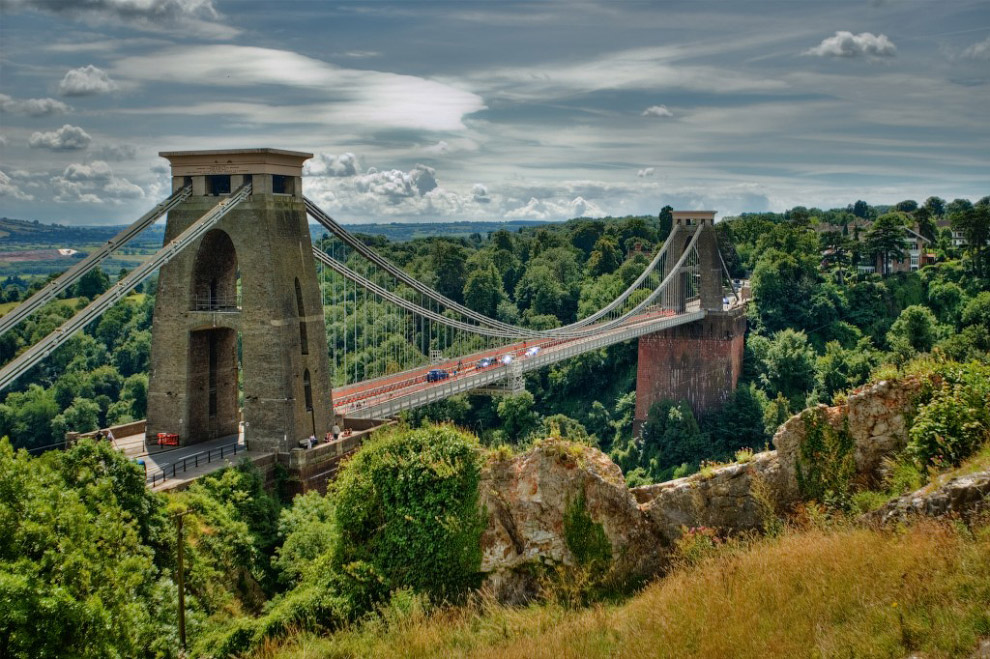 Подвесной мост Клифтон, Англия