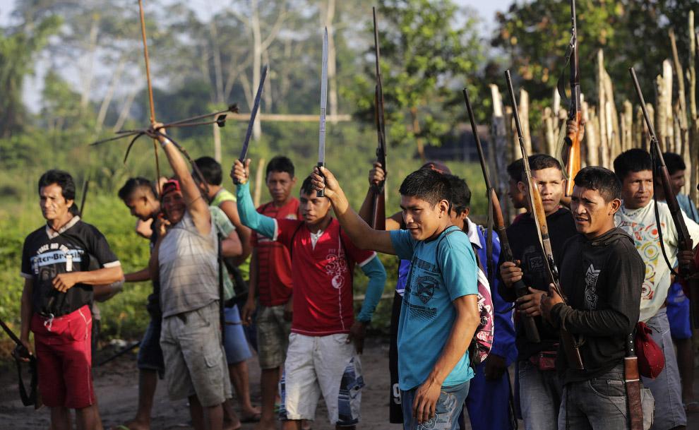 Воины джунглей Амазонки
