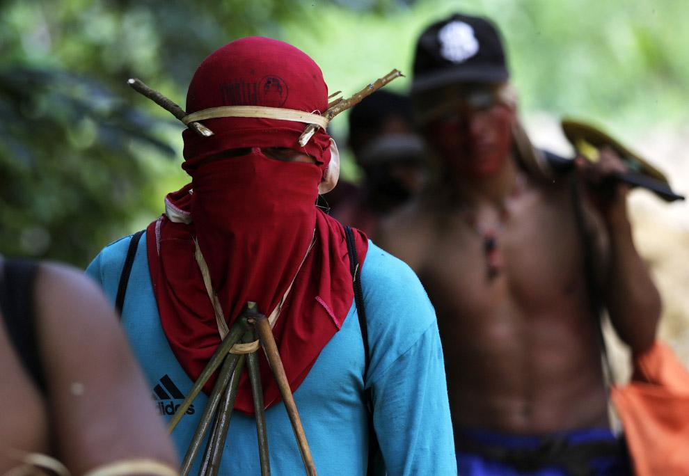Встреча с местными племенами не предвещает незаконным рубщикам леса ничего хорошего