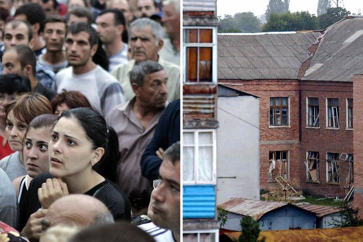 10-я годовщина трагедии в Беслане