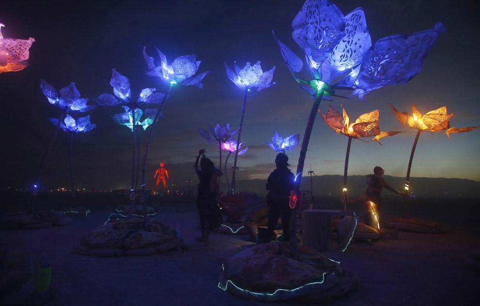 Красивые световые инсталляции