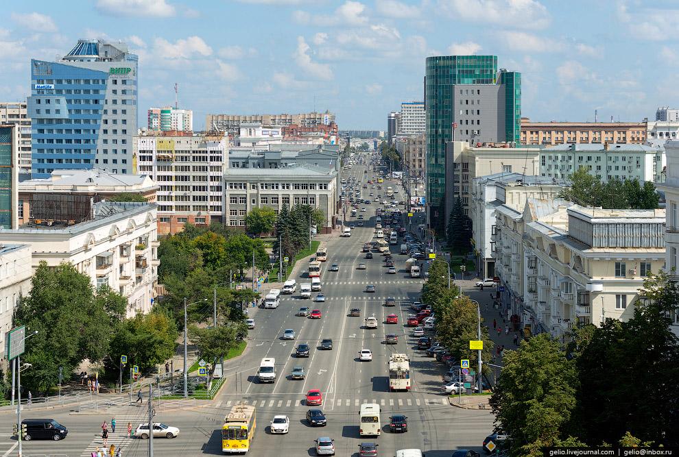 Проспект Ленина — главная улица города