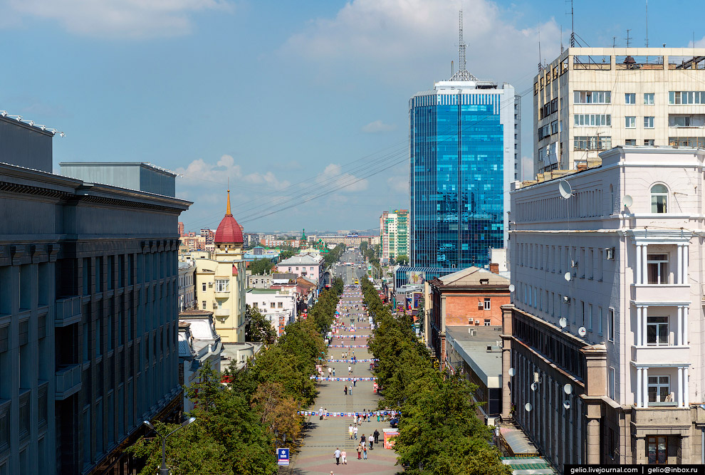 Кировка — пешеходная улица в центре Челябинска