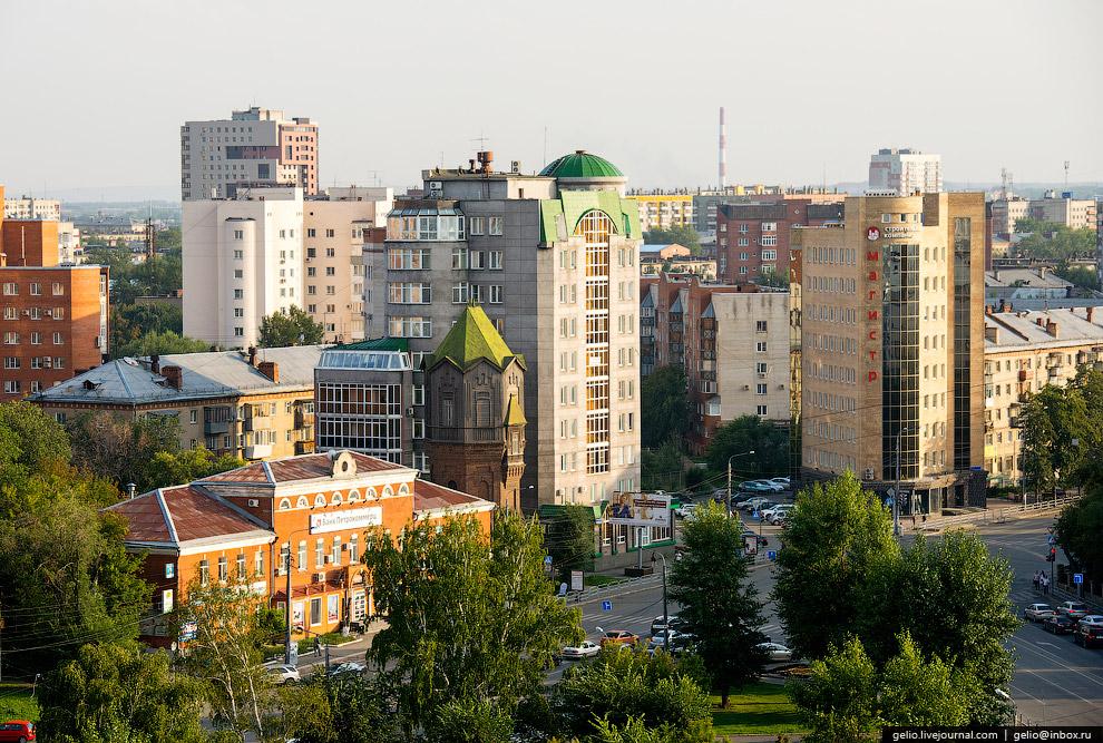 Старая водонапорная башня на Воровского