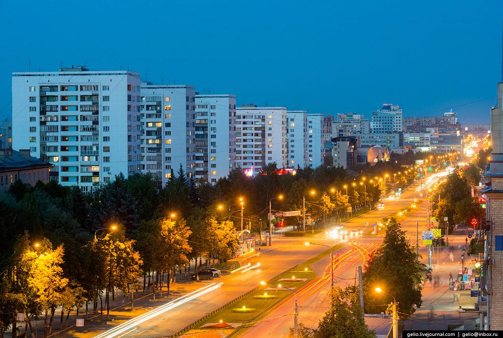Жилые дома на проспекте Ленина