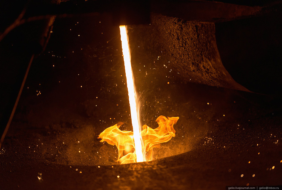 Разливка стали