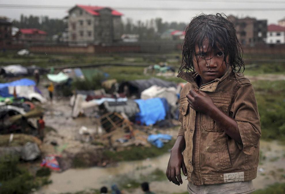 В Индии в результате стихии около 2.5 тысячи деревень были частично или полностью затоплены