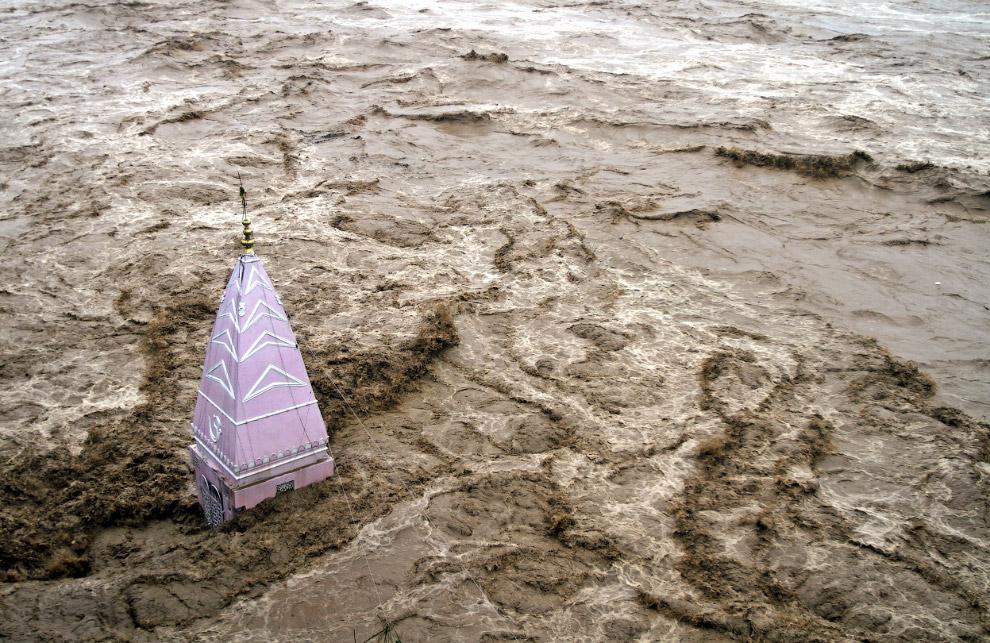 Исторический наводнение в Индии и Пакистане