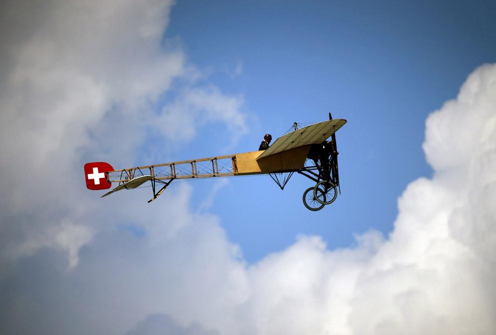Люди всегда мечтали полететь…Авиашоу в честь100-летия швейцарских ВВС