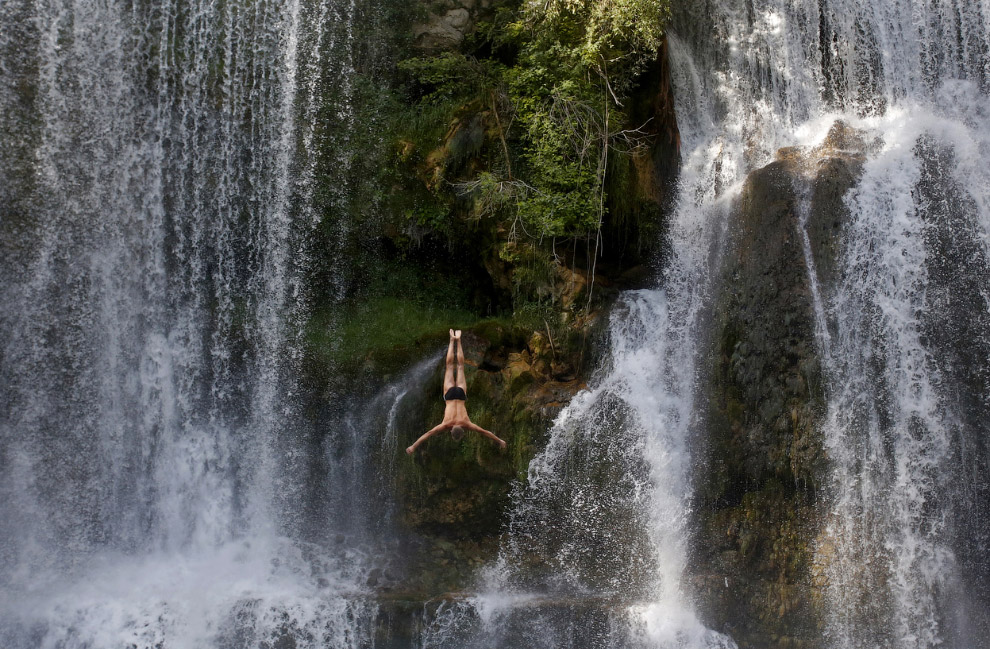 Первый международный конкурс по прыжкам в водопад, Босния и Герцеговина