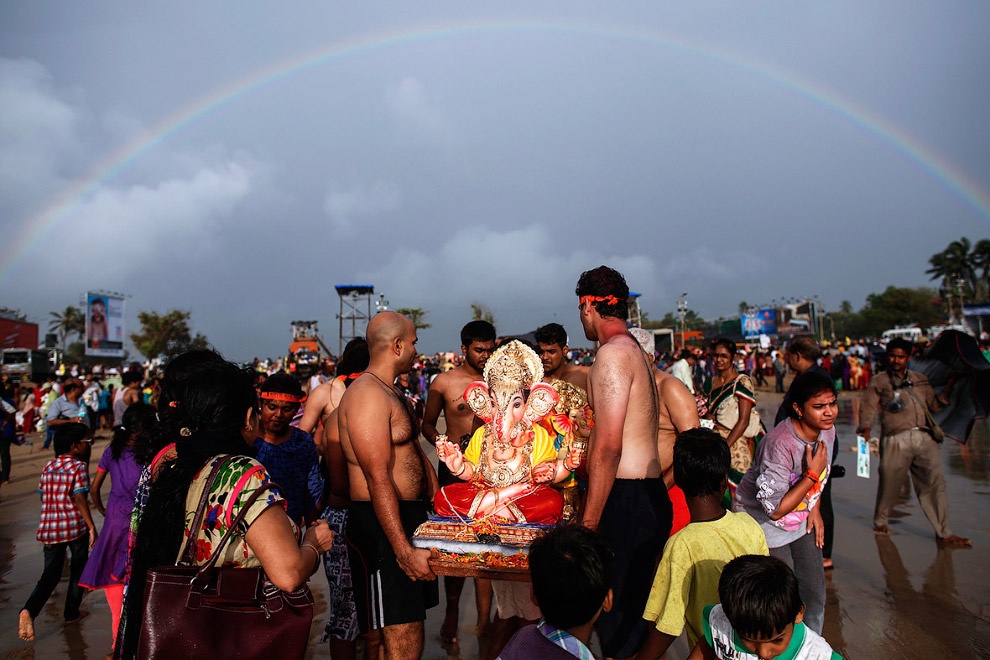 Фестиваль бога Ганеши