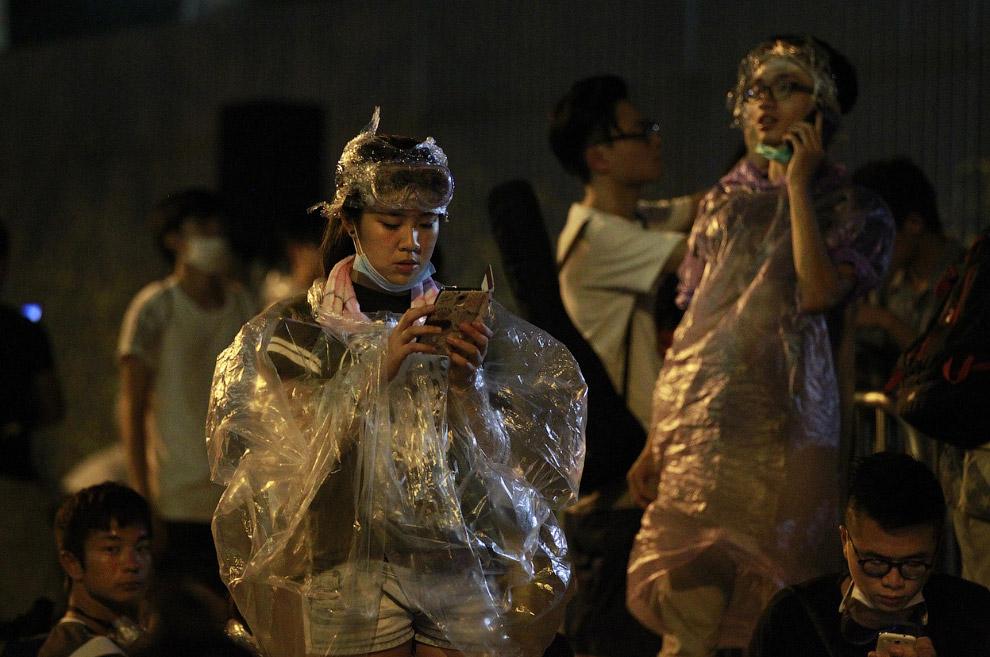 Как известно, для координации протестов активно используются соц.сети