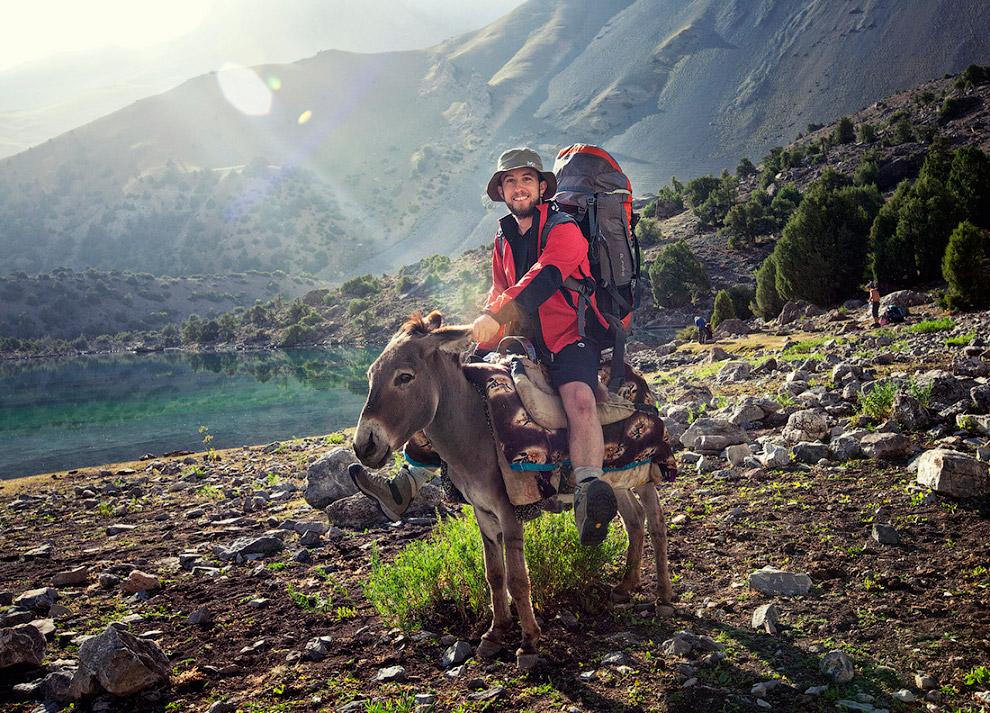 Горный поход в Фанские горы