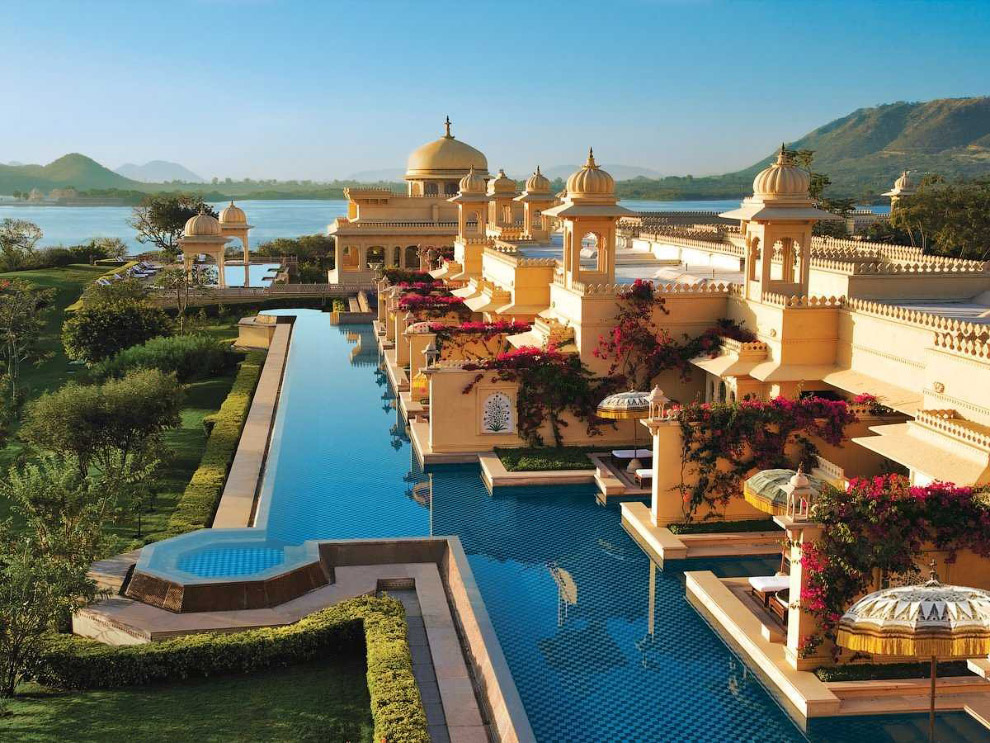 Самый роскошный отель в Индии