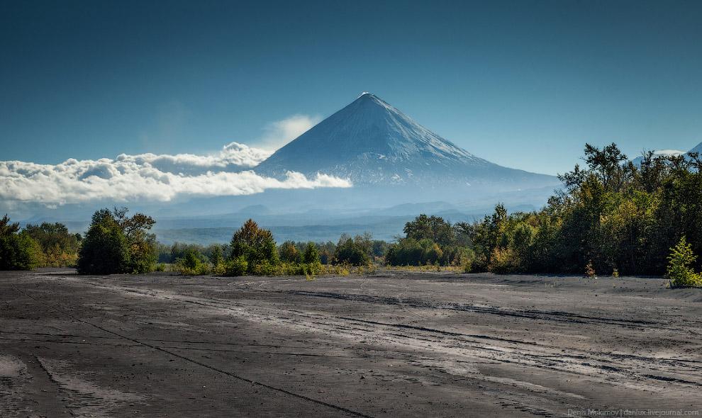 Ключевская сопка — самый большой в Евразии действующий вулкан