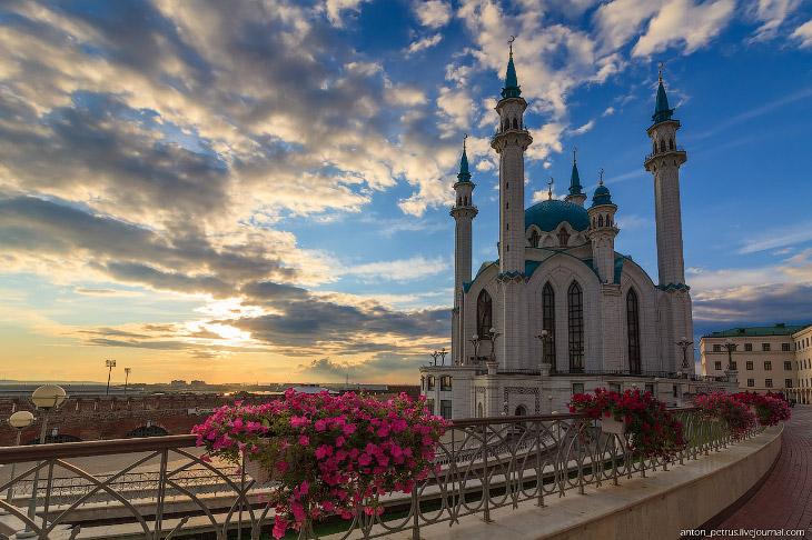 Казанский Кремль и мечеть Кул Шариф