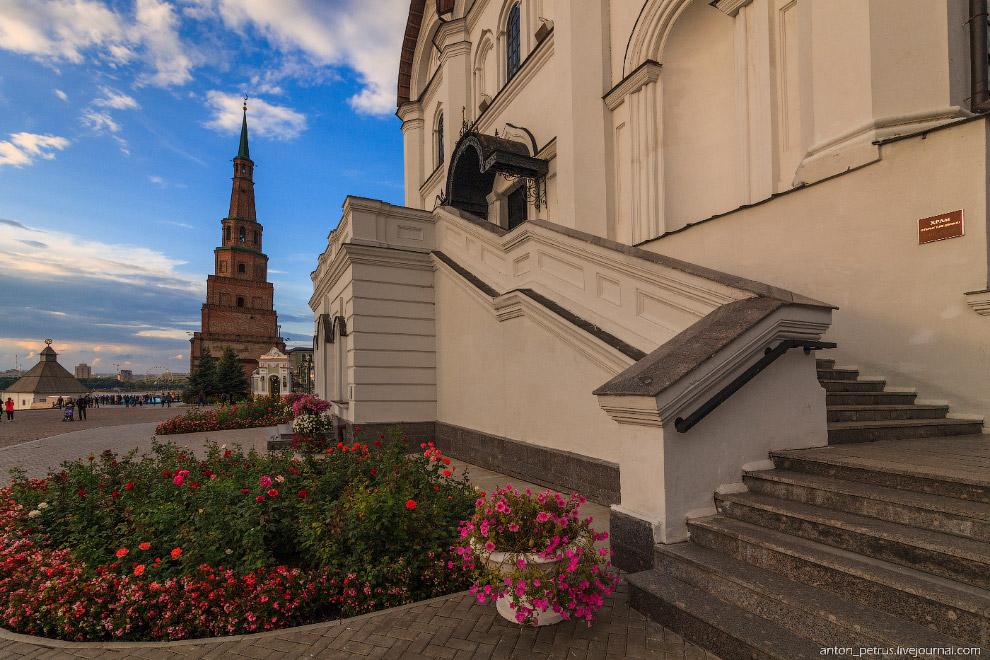 Казанская Пизанская башня