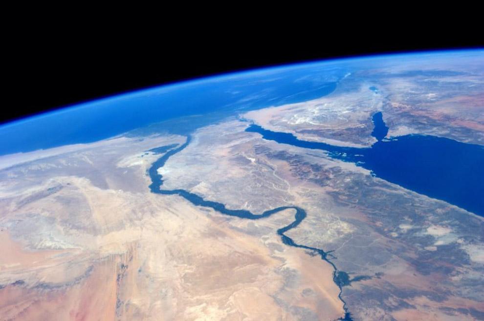 Река Нил и Красное море