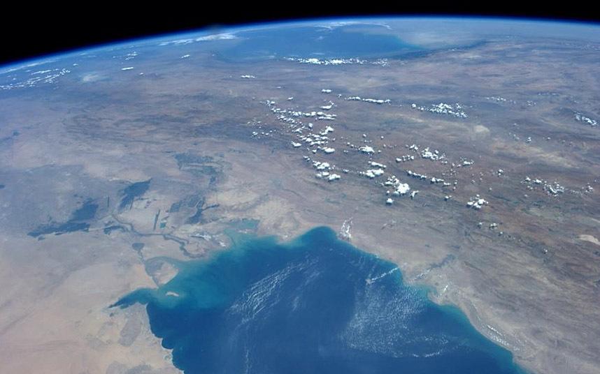 Кувейт, Иран и Каспийское море