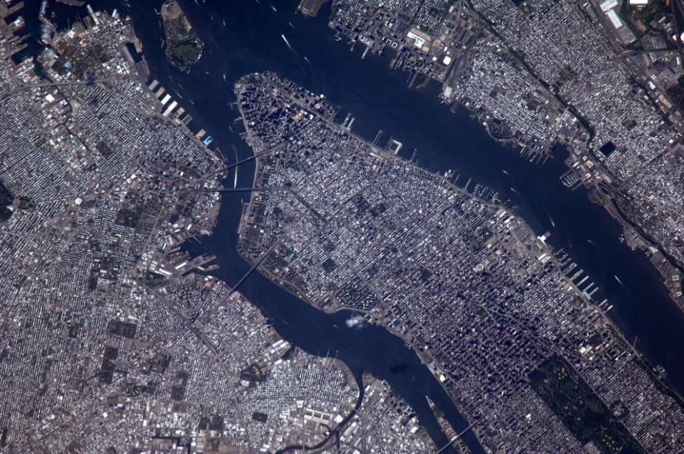 Манхэттен в Нью-Йорке