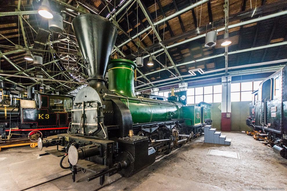 Железнодорожный музей в Словении