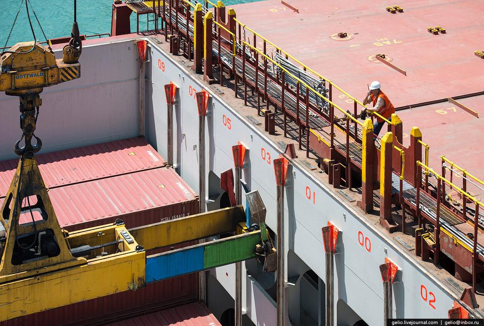 Новороссийский морской порт — самый большой порт России