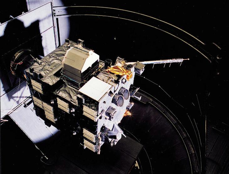 Это и есть космический аппарат Розетта