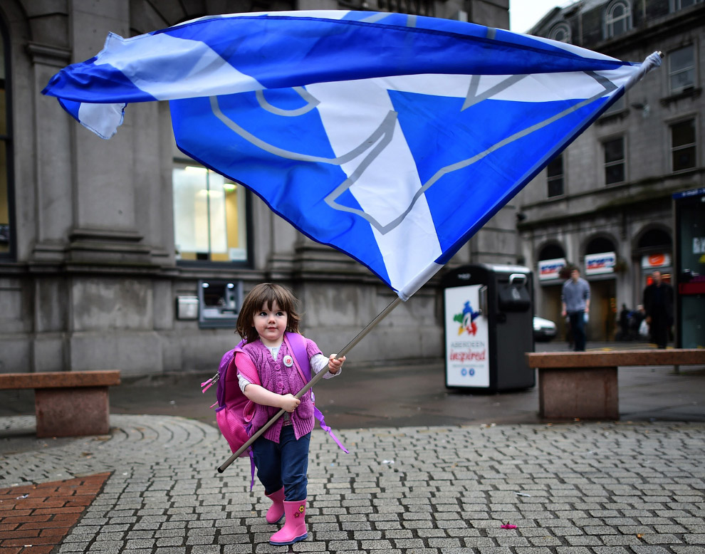 Исторический референдум в Шотландии 2014