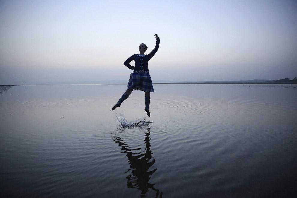 16-летная шотландская танцовщица