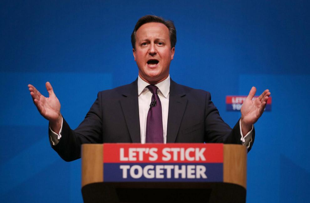 Премьер-министр Дэвид Кэмерон