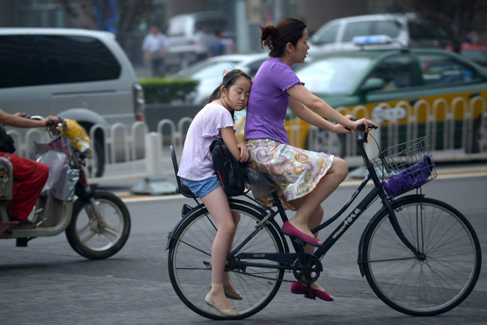 Укачало на улицах Пекина