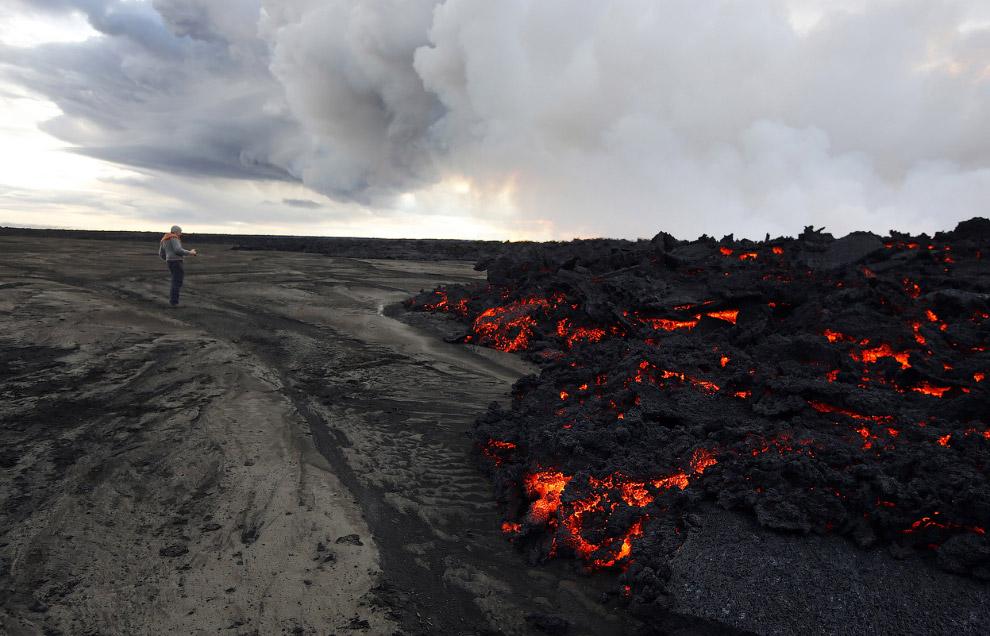 Лава у разных вулканов различна