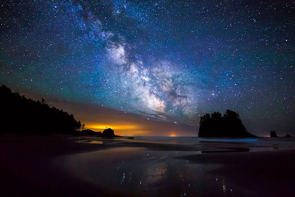 Галактика Млечный путь, штат Вашингтон