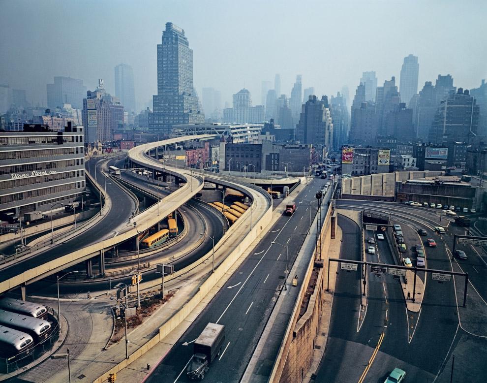 Вид Манхеттена в 1964-м году