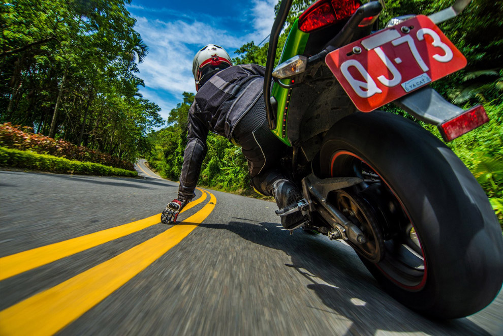 Мотоциклист, Тайвань