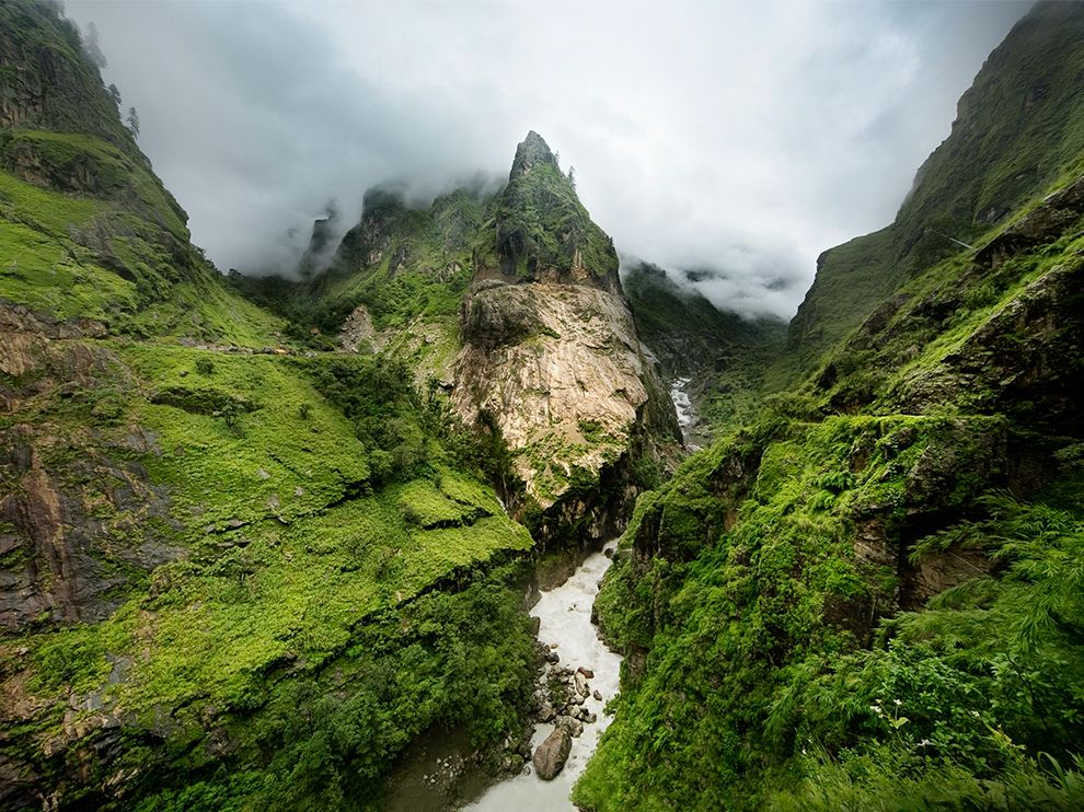 Пейзажи Аннапурны, Гималаи