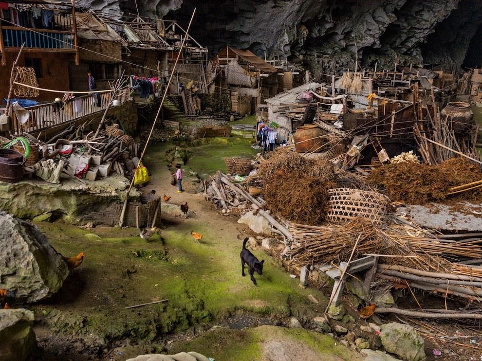 Подземная деревня, Китай