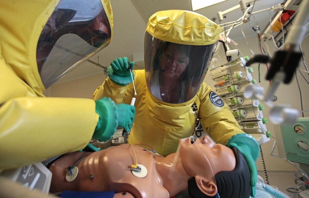 Специального лечения геморрагической лихорадки Эбола или вакцины против неё до сих пор не существует