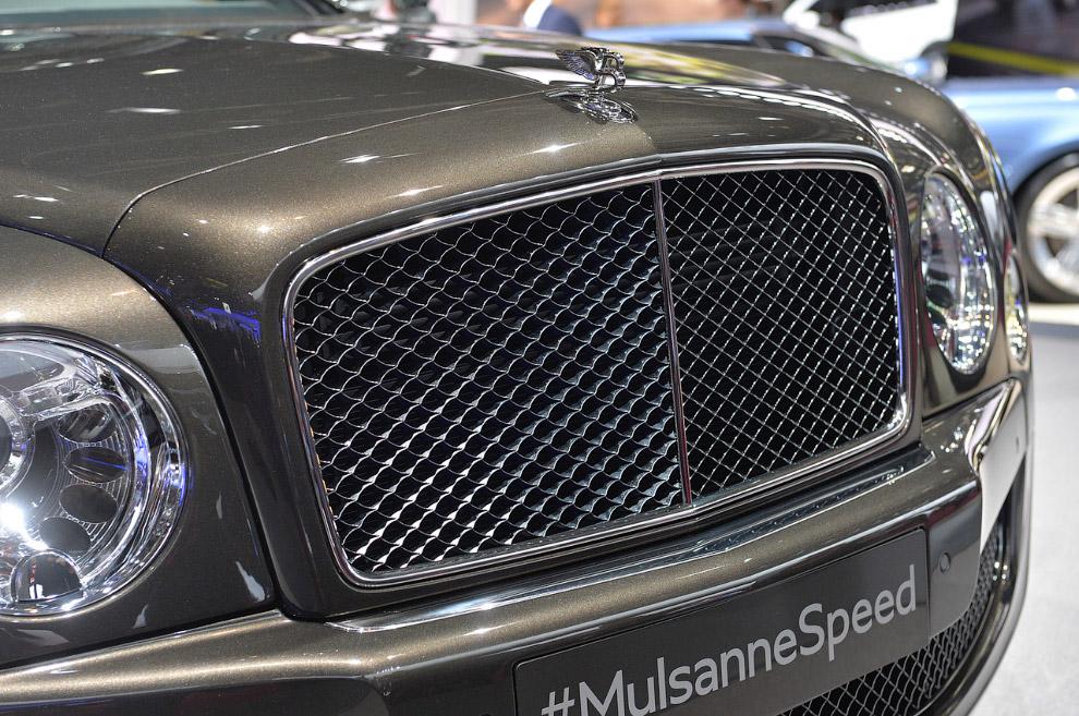 Бэнтли Mulsanne Speed 2015