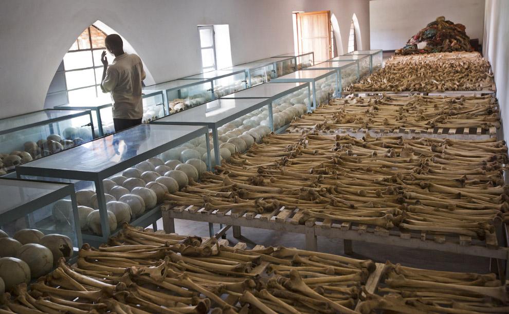 Мемориал геноцида в Руанде