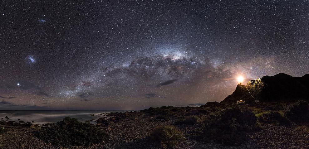 Галактика «Млечный путь», Новая Зеландия