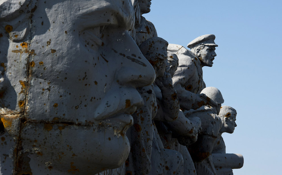 Мемориал Сау́р-Моги́ла в Донецкой области