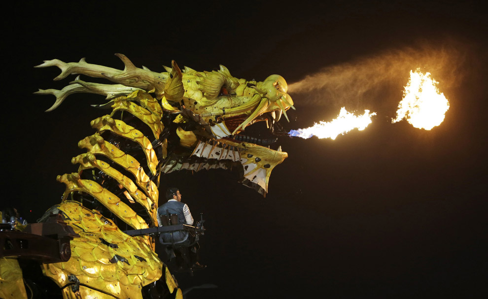 Настоящий дракон
