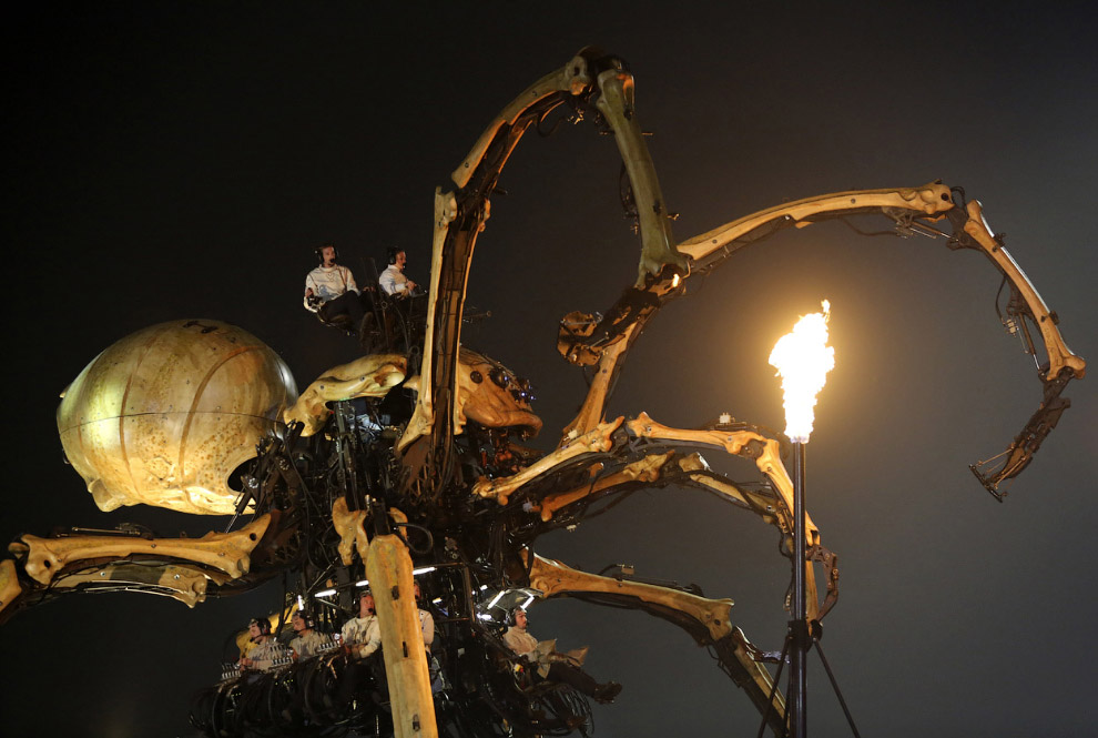Механический паук Принцесса