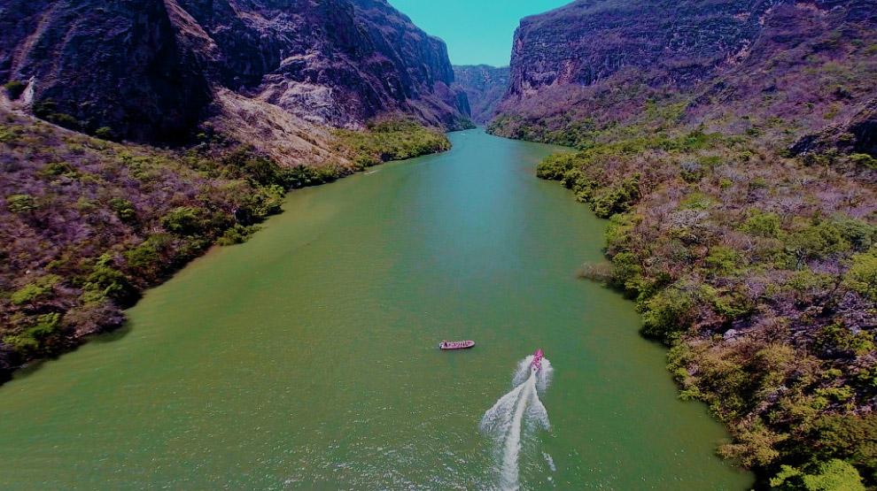 Мексика, каньон Сумидеро