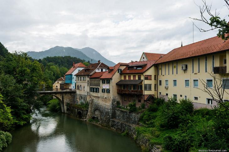 Самый красивый сохранившийся средневековый город в Словении