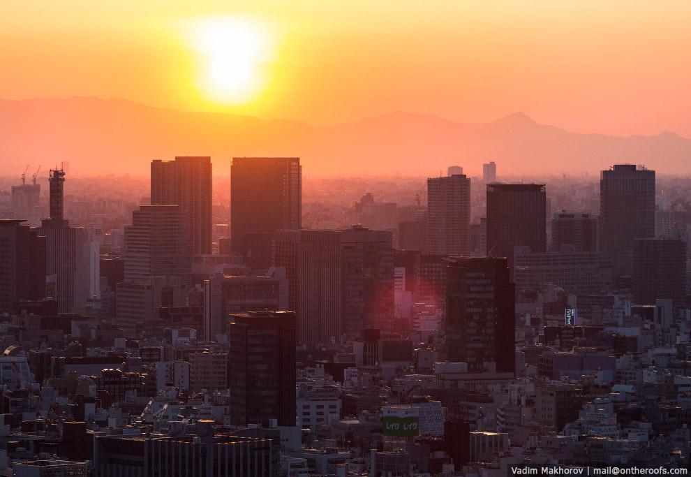 Япония с высоты: Токио и Осака