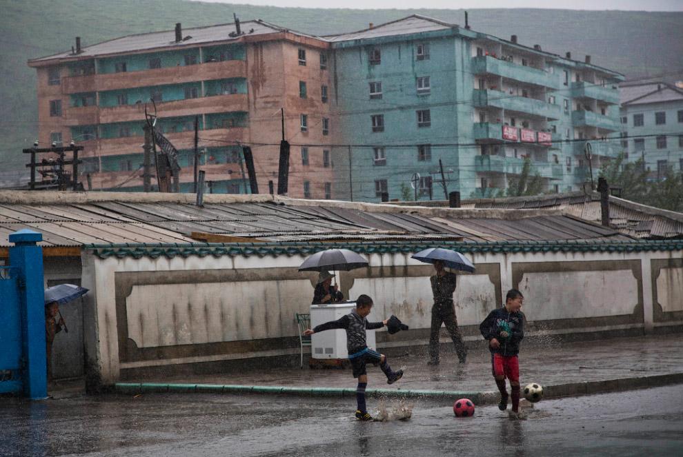 Северная Корея: редкий фоторепортаж из провинции
